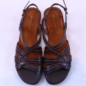 Naturalizer Leather Blowout Strappy Sandals NWOT
